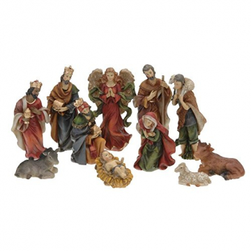11 Krippenfiguren für Weihnachten - 1