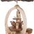 2-stöckige Weihnachtspyramide Christi Geburt Exklusiv - 28 cm - 100% Erzgebirge Pyramide - 2