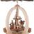 2-stöckige Weihnachtspyramide Christi Geburt Exklusiv - 28 cm - 100% Erzgebirge Pyramide - 4