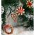 26-teiliges Weihnachtsanhänger aus Stroh - Handgemacht Gemischter Stroh Weihnachtsbaumschmuck aus natürlichem Material, Stroh Christbaum Anhänger Weihnachtsanhänger in verschiedenen Varianten - 3