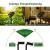 [3 Stücke] Solar Lichterkette Aussen, 10MX3 300 LED Outdoor Solar Lichterkette Außen Wetterfest 8 Modi Wasserdicht Solarlichterkette Größeren Lampenperlen für Balkon Garten Party Hochzeit Deko - 3