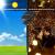 [3 Stücke] Solar Lichterkette Aussen, 10MX3 300 LED Outdoor Solar Lichterkette Außen Wetterfest 8 Modi Wasserdicht Solarlichterkette Größeren Lampenperlen für Balkon Garten Party Hochzeit Deko - 4