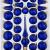 39 TLG. Glas-Weihnachtskugeln Set in 'Ice Royal Blau Gold' Regen - Christbaumkugeln - Weihnachtsschmuck-Christbaumschmuck - 1