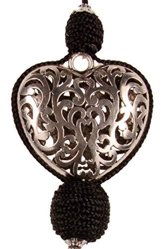 3er Set Orientalische Schlüsselanhänger 22cm (3)   Marokkanische Christbaumschmuck als Dankeschön Geschenke   Quasten mit Schlüsselring als Taschenanhänger Deko Anhänger für Auto Handy Rucksack - 2