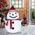 40 LED Weihnachtsmann Schneemann Laterne Stabil Weihnachten Außenlaterne IP65 Wasserdicht Weihnachtsbeleuchtung Outdoor für Außendekoration Weihnachtsgartens (Ohne Akku) - 2
