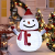 40 LED Weihnachtsmann Schneemann Laterne Stabil Weihnachten Außenlaterne IP65 Wasserdicht Weihnachtsbeleuchtung Outdoor für Außendekoration Weihnachtsgartens (Ohne Akku) - 1