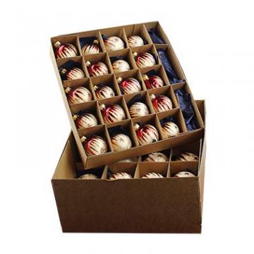 40er Christbaumschmuck, Weihnachtsbaumkugel Set Lauscha ,Eislack Champagner Bordeaux Gold, 38 Kugeln+Spitze, Handarbeit - 2