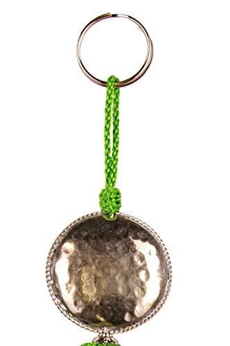 4er Set Orientalische Schlüsselanhänger 18cm (1) | Marokkanische Christbaumschmuck als Dankeschön Geschenke | Quasten mit Schlüsselring als Taschenanhänger Deko Anhänger für Auto Handy Rucksack - 7