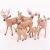 Amosfun 6 Stücke Mini Rentier Figur Elch Hirsch Figur Weihnachten Deko Figuren Miniaturfiguren Tierfigur Dekofigur Weihnachtsfigur Tischdeko Weihnachtsdeko Weihnachtsschmuck(zufällig) - 3