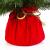 artplants.de Mini Weihnachtsbaum WARSCHAU, grün, rot, 90cm, Ø 50cm - Plastik Tannenbaum - 3