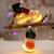 Aurasky Klar Weihnachtskugeln, 16 pcs Weihnachtskugeln Baumschmuck, Befüllbare DIY Christbaumkugeln, Christbaumkugeln aus Klarem, Christbaumkugeln zum Befüllen als Christbaumschmuck - 4