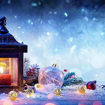 Aurasky Klar Weihnachtskugeln, 16 pcs Weihnachtskugeln Baumschmuck, Befüllbare DIY Christbaumkugeln, Christbaumkugeln aus Klarem, Christbaumkugeln zum Befüllen als Christbaumschmuck - 7