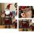 azurely Robe Santa Claus Figur, 30 / 45cm Stehende Santa Claus Figur Puppe Weihnachten Desktop Ornament Kinder Geschenk Spielzeug für Home Mall Office - 2