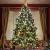Baummantel Christbaumbeleuchtung mit 10 * 28 LED, Lichterkette Baumbeleuchtung mit Ring, IP44 Spritzwassergeschützt, Außen und Innen Lichterkette für 180CM-250CM Weihnachtsbaum (warm weiße) - 3