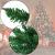 BB Sport Christbaum Weihnachtsbaum 240 cm Mittelgrün PVC Tannenbaum Künstlich Standfuß Klappsystem - 2