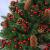 BB Sport Luxus Christbaum 150 cm Dunkelgrün künstlicher Weihnachtsbaum PE/PVC Spritzguss Mix Tannenbaum Standfuß - 4