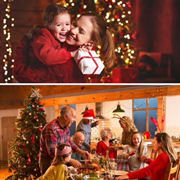 BB Sport Luxus Christbaum 150 cm Dunkelgrün künstlicher Weihnachtsbaum PE/PVC Spritzguss Mix Tannenbaum Standfuß - 6