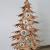Bergliebe Dekobaum Weihnachtsdekoration Weihnachtsbaum Christbaumkugeln rustikal Vintage geflammtes Holz 103.5x58 cm Pohmer Design - 3
