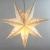 BESPORTBLE 45CM Papierstern Lampe Papier Weihnachtssterne mit Beleuchtung 3D Leuchtstern Fensterdeko Stern Weihnachten Beleuchtet Christbaumspitze für Weihnachtsbaum Deko - 2