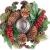 Britesta Weihnachtsgesteck: Handgefertigtes Weihnachts- & Adventsgesteck mit Teelicht-Halter, 23cm (weihnachtdeko) - 3