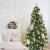 Busybee 210cm Künstlicher Weihnachtsbaum mit beleuchtung 400 LEDs und Ornamenten Reine Champagner-Weihnachtsdekoration, einschließlich voller künstlicher Christbaumkugeln - 3