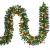 Casaria Weihnachtsgirlande 10m geschmückt 160 LEDs Girlande inkl. Deko Weihnachten Innen Außen IP44 Tannengirlande weiß - 1