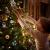 Christbaumanhänger Wunderschöner Holz Baumbehang als 48er Set Weihnachtsbaumschmuck Deko-Anhänger Miniatur Ornamente Baumschmuck Holzanhänger Hänger Holz Weihnachten handbemalt Christbaum-Anhänger - 3