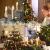 Clanmacy 20 Stück LED Weihnachtskerzen kabellos, Dimmbar Flammenlose Kerzenlichter mit Fernbedienung Timer, warmweiß Christbaumkerzen für Weihnachtsdeko Hochzeit Geburtstags Party - 3