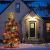 CUIFULI Weihnachtsbaum Stern, 1 STÜCK Christbaumspitze Stern Tannenbaum Spitze Warmweiß 10 LED für Feiertags-Dekorationen - 4