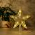 CUIFULI Weihnachtsbaum Stern, 1 STÜCK Christbaumspitze Stern Tannenbaum Spitze Warmweiß 10 LED für Feiertags-Dekorationen - 1