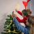EKKONG Baumspitze Stern, Baumspitze Weihnachten aus Stroh Natur Christbaumspitze Weihnachtsbaumspitze Handgemachter Weihnachtsbaumschmuck für Jeder Größe Weihnachtsbäume - 4