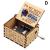 ERHETUS Gravierte hölzerne Spieluhr handgekröpfte Spieluhr für Tochter Frau Geburtstagsgeschenk für Geburtstag, Festival, Weihnachten - 3