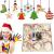 Fancylande DIY Hölzerne Christbaumschmuck, Handgemachte Holzhackschnitzelanhänger Und Weihnachtsthema, Um Eine Schöne Urlaubsatmosphäre Für Sie Zu Schaffen - 1
