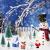 Feelava 30 Stück Weihnachten Miniatur Ornament Kits Mini Xmas Style Figuren Weihnachtsmann Weihnachtsbaum niedlichen Cartoon Xmas Decor für Home Garden Party Decor Desktop Dekoration - 4