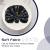FYY 6er-Set Jacquard Stoffservietten Servietten Stoff Leinenservietten Roseus mit Damast Muster,servietten für Familienessen | Hochzeiten |Cocktail | Küche |Startseite| Erntedankfest/Weihnachten,Blau - 4