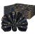 FYY 6er-Set Jacquard Stoffservietten Servietten Stoff Leinenservietten Roseus mit Damast Muster,servietten für Familienessen | Hochzeiten |Cocktail | Küche |Startseite| Erntedankfest/Weihnachten,Blau - 1