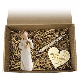 Geschenkbox 'JEMAND BESONDEREN' / Willow Tree/Geburtstag/Box/Präsent Korb/Geschenk/Figur - 1