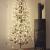 HILIGHT LED Weihnachtsbaum mit 296 warmweißen LEDs und Schneedeko 180 cm braun für Außenbereich geeignet Christbaum Tannenbaum Zweige und Äste Biegsam inkl. Metallständer - 1
