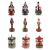 Homyl Weihnachten Nutcracker Soldaten Figuren Spieluhr Spieldose mit Uhrwerk Rote Basis - 4