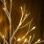 Hypestar Dekoratives Lichterbaum | Leuchtbaum mit 24 Warmweißer LEDs Licht | 45cm Lichterzweige für Tischdekoration | Zeitschaltuhr USB und Batterien | Weihnachten Ostern Party Innendeko (24led Weiß) - 2
