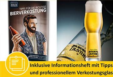 KALEA Bier-Adventskalender, 24 x 0,33 L Bierspezialitäten von Privatbrauereien aus Deutschland und 1 Verkostungsglas, neue Bestückung 2021, Biergeschenk zur Vorweihnachtszeit für alle Bierliebhaber - 4