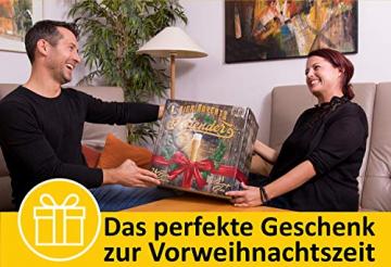 KALEA Bier-Adventskalender, 24 x 0,33 L Bierspezialitäten von Privatbrauereien aus Deutschland und 1 Verkostungsglas, neue Bestückung 2021, Biergeschenk zur Vorweihnachtszeit für alle Bierliebhaber - 8