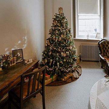 Kerzen Lichterkette, THOWALL 15.5M 50er LED Weihnachtsbaum Lichterkette mit Klemmen, Flammenloses LED Kerzen Dekoration für Weihnachtsbaum, Weihnachtsdeko, Hochzeit, Geburtstags, Party, Warmweiß - 5