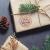 KOHMUI Christbaumschmuck Holz Set, Weihnachtsdeko Anhänger, Weihnachtsdekoration Baumschmuck zum Hängen, 24 Christbaum Hirschkopf Rentier Stern Weihnachtssnhänger mit 18 Frohe Weihnachten Aufkleber - 3