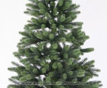 Künstlicher Tannenbaum mit Spritzguss Nadeln auf 766 Tips, LED Beleuchtung, Höhe 180cm von kunstpflanzen-discount.com - künstlicher Weihnachtsbaum - Tannenbaum künstlich - künstliche Weihnachtsbäume Christbaum - 4