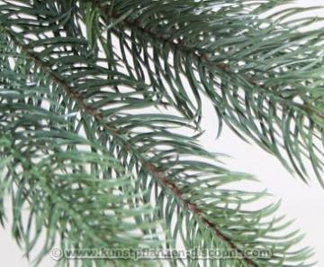 Künstlicher Tannenbaum mit Spritzguss Nadeln auf 766 Tips, LED Beleuchtung, Höhe 180cm von kunstpflanzen-discount.com - künstlicher Weihnachtsbaum - Tannenbaum künstlich - künstliche Weihnachtsbäume Christbaum - 5