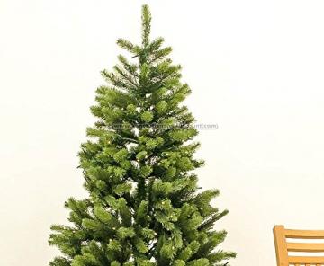 Künstlicher Tannenbaum mit Spritzguss Nadeln auf 766 Tips, LED Beleuchtung, Höhe 180cm von kunstpflanzen-discount.com - künstlicher Weihnachtsbaum - Tannenbaum künstlich - künstliche Weihnachtsbäume Christbaum - 8