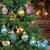 KwuLee Weihnachtskugel,99 Stück 3cm Weihnachtskugeln Kunststoff mit Hängend Schleife Wiederverwendbar,Christbaumkugeln Weihnacht Ornamente für Weihnachtsbaum Home Hochzeit Geburtstagsfeier Dekoration - 2