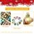 KwuLee Weihnachtskugel,99 Stück 3cm Weihnachtskugeln Kunststoff mit Hängend Schleife Wiederverwendbar,Christbaumkugeln Weihnacht Ornamente für Weihnachtsbaum Home Hochzeit Geburtstagsfeier Dekoration - 4