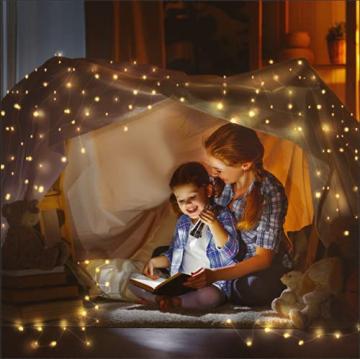 LE 10M LED Lichterkette Draht aus Kupferdraht, 100 LEDs, Wasserdicht IP65, Strombetrieben, ideal Stimmungslichter für Weihnachtsdeko Innen Außen Weihnachten Party Hochzeit usw. Warmweiß - 2
